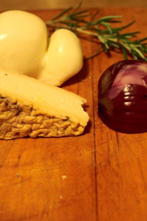 Lasagne con zucca, pancetta e taleggio.